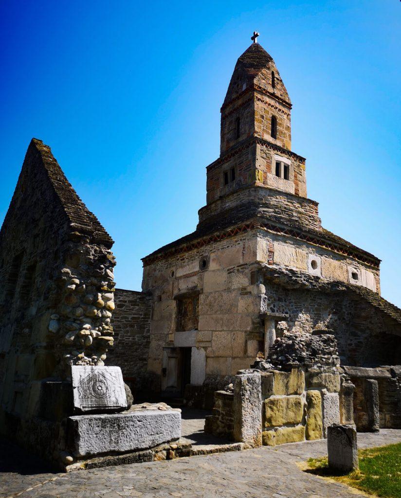 Densusi Church in Transylvania