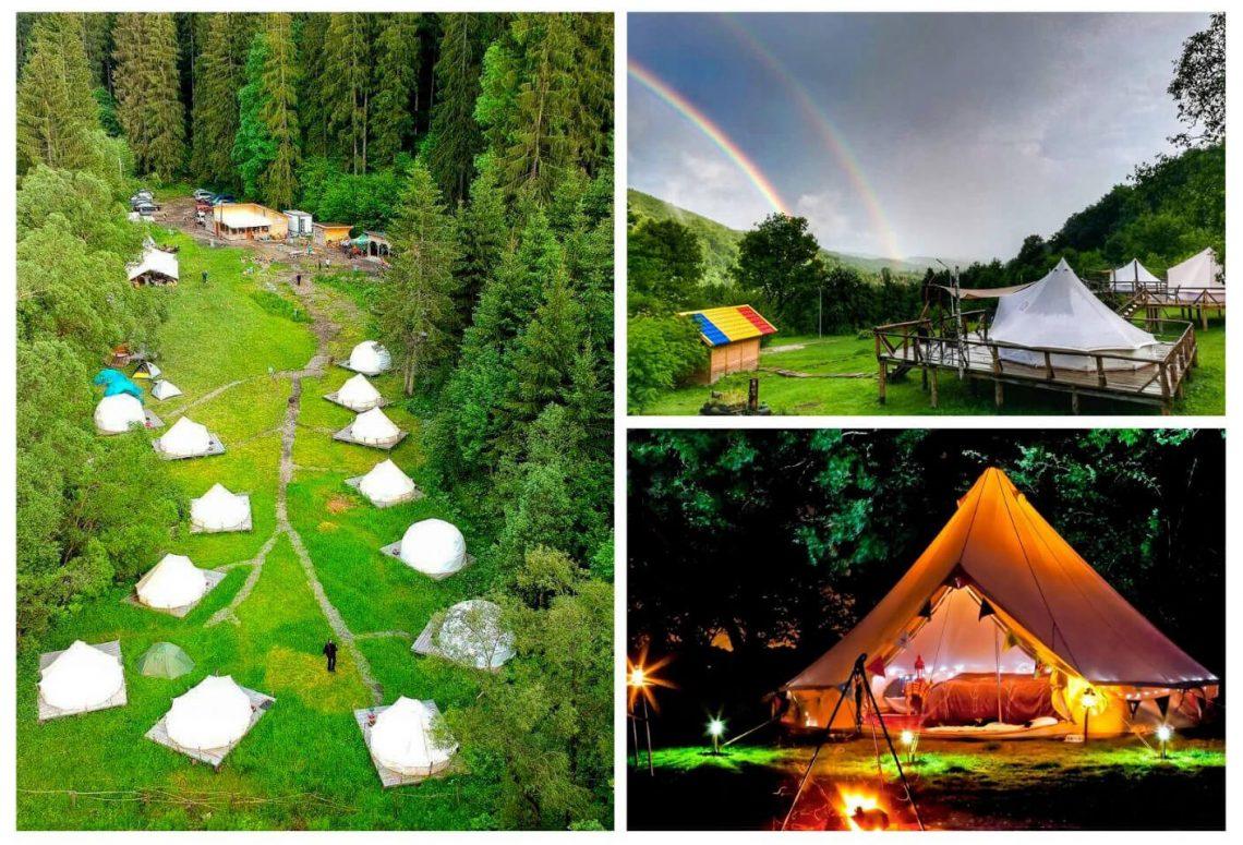 Glamping resorts