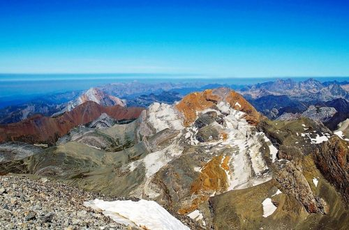 Ordesa y Monte Perdido National Park view from above