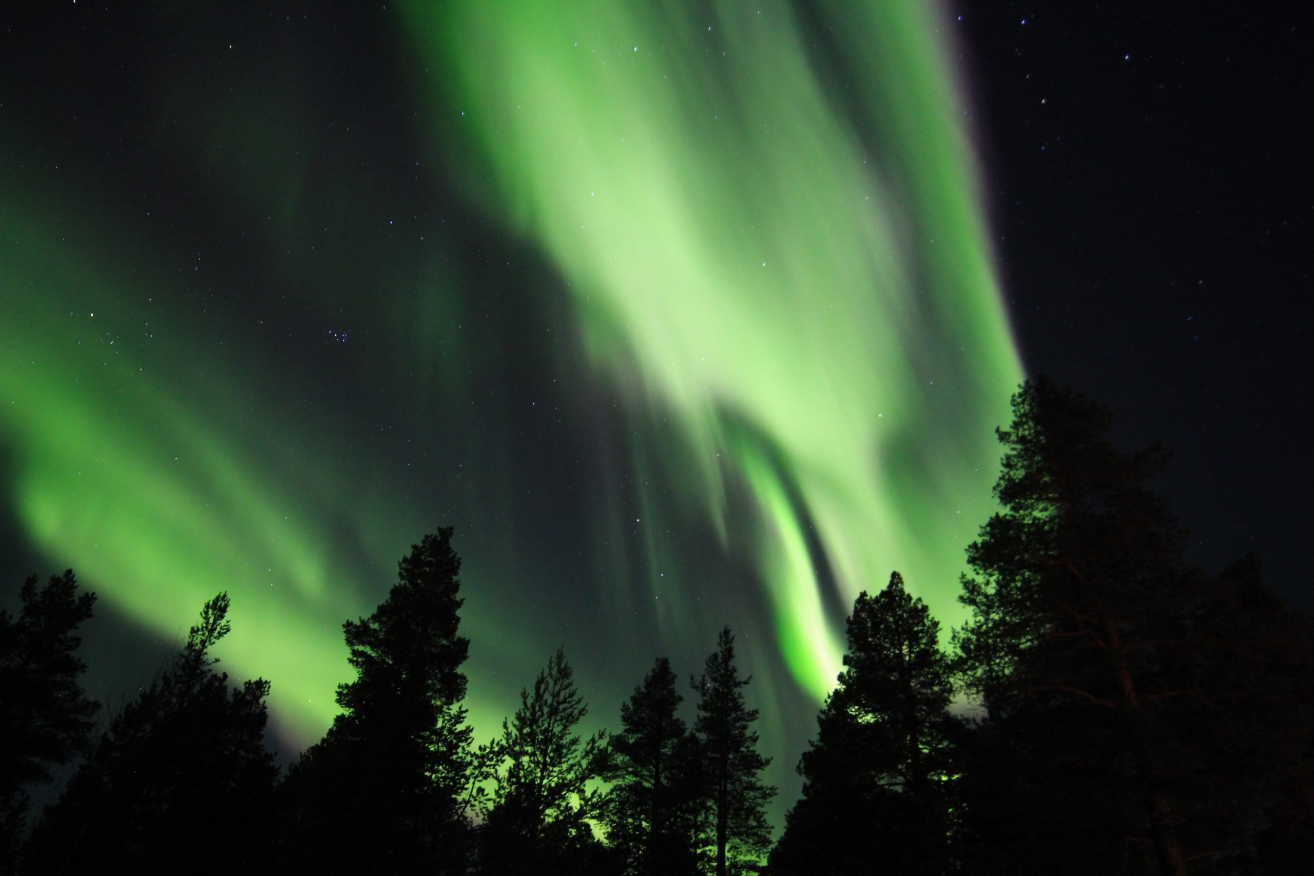 Aurora Borealis view