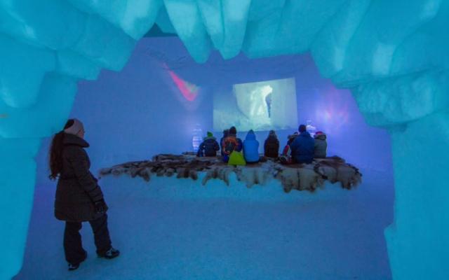 Ice cinema