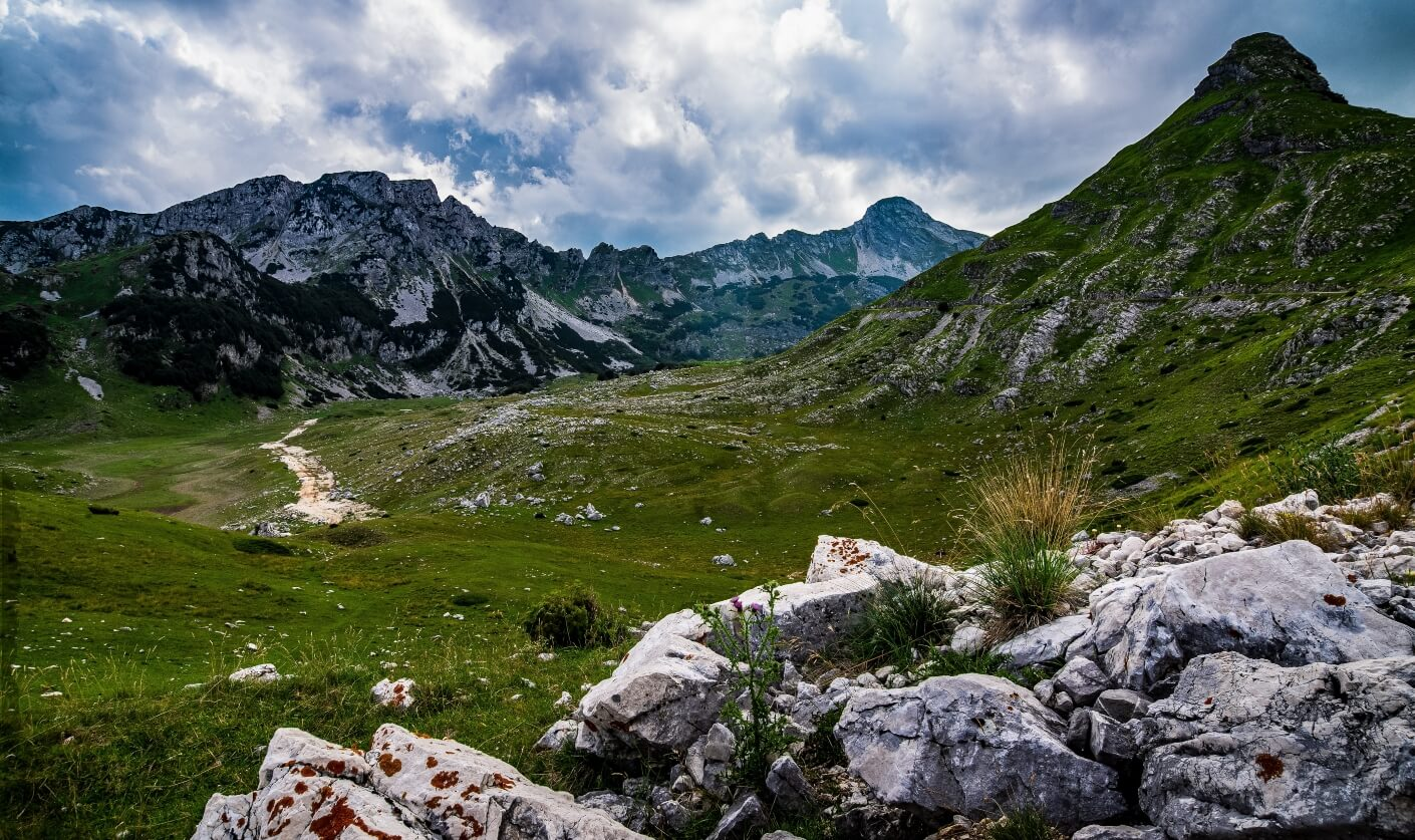 Mountaineous area in Durmitor National Park