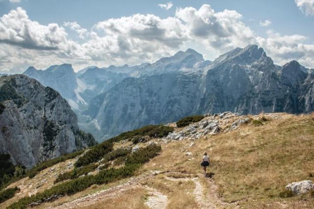 girl hiking- Triglav National Park