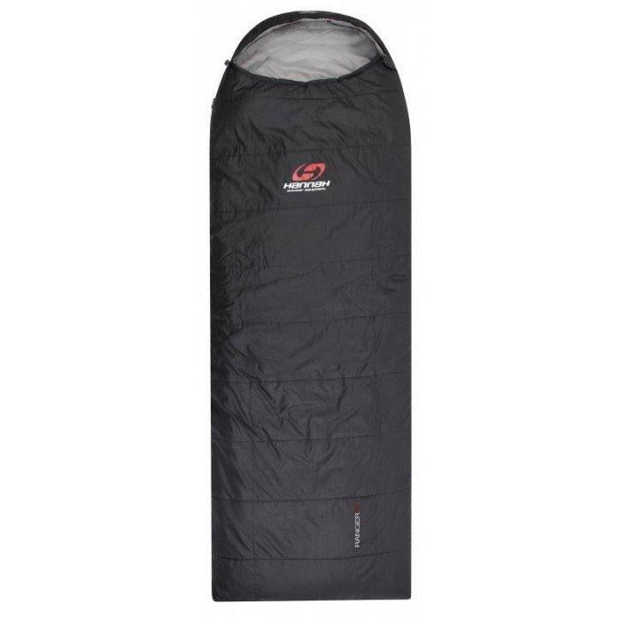 Semi rectangular sleeping bag