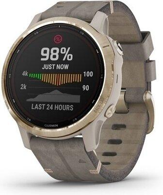 Garmin Fenix 6s pro-solar watch