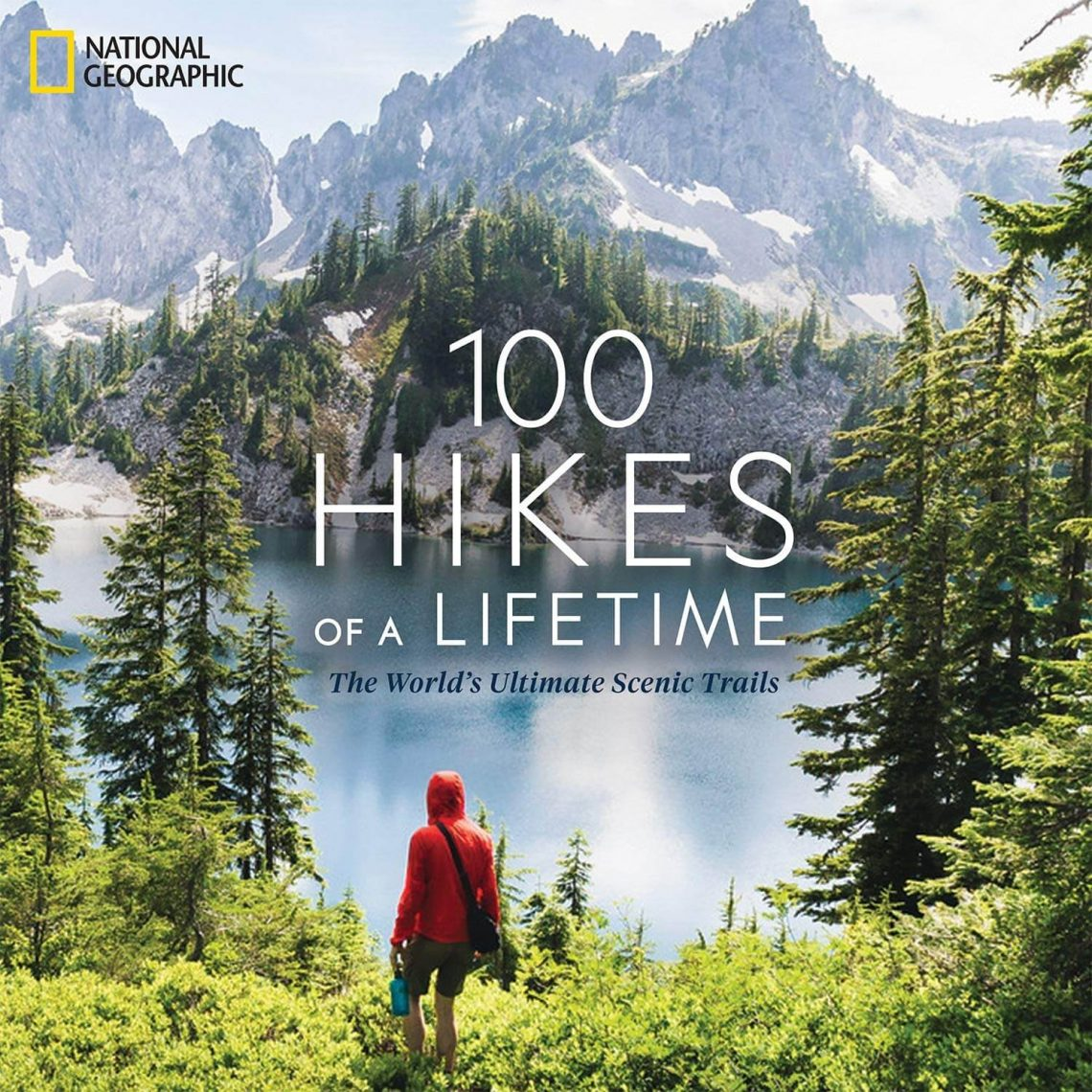 100 hikes of a lifetime cover