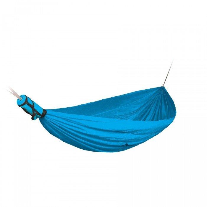 blue double hammock