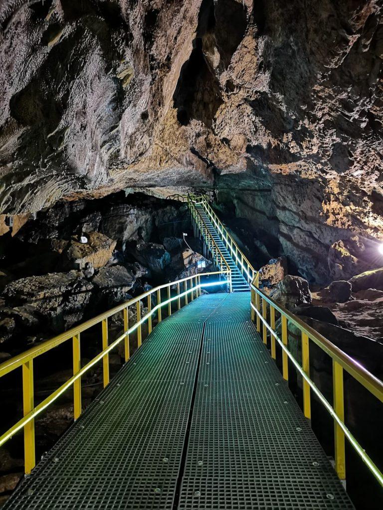 View inside Ialomita Cave Romania