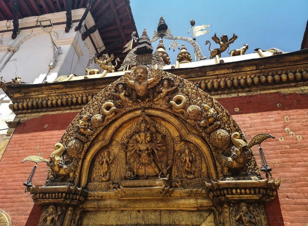 Golden Gate in Baktapur, Nepal