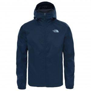 Blue hardshell jacket