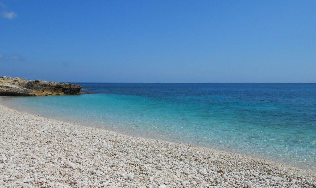 Wild beach in Zingaro Natural Park