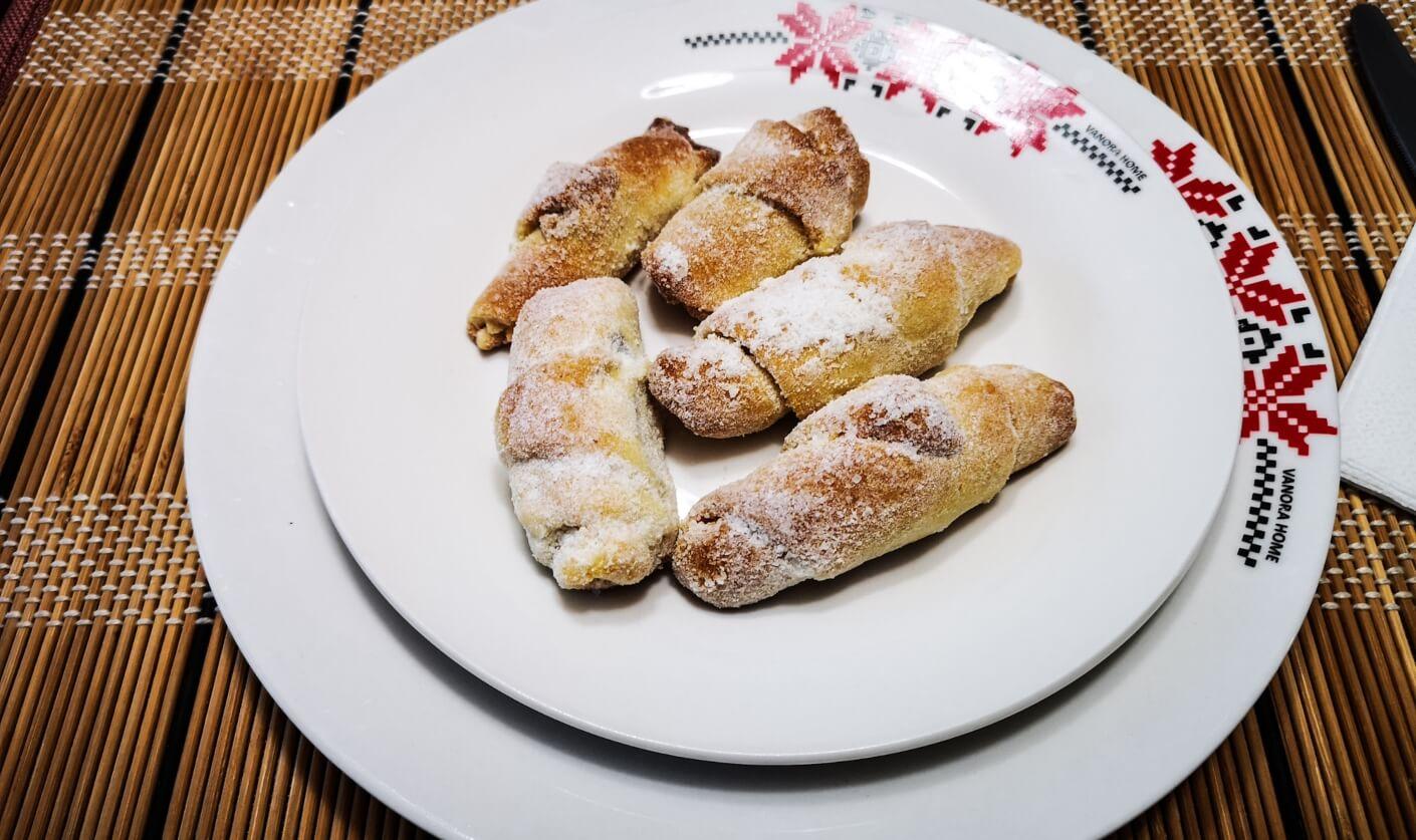 dessert at Casa din Susani, Maramureș, Romania