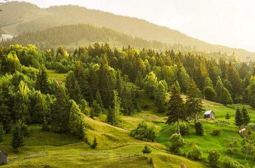 village in Maramureș, Romania